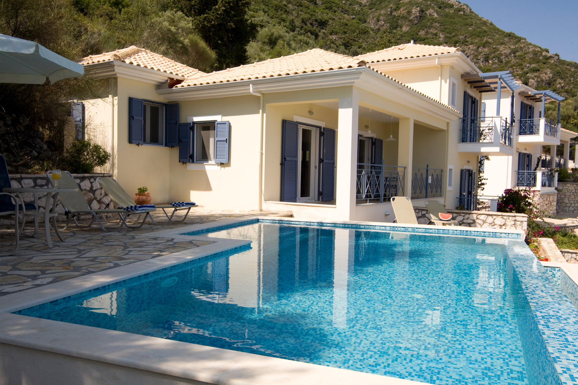 Lefkada Villa | Two Greek Villas | Villa De La Luna